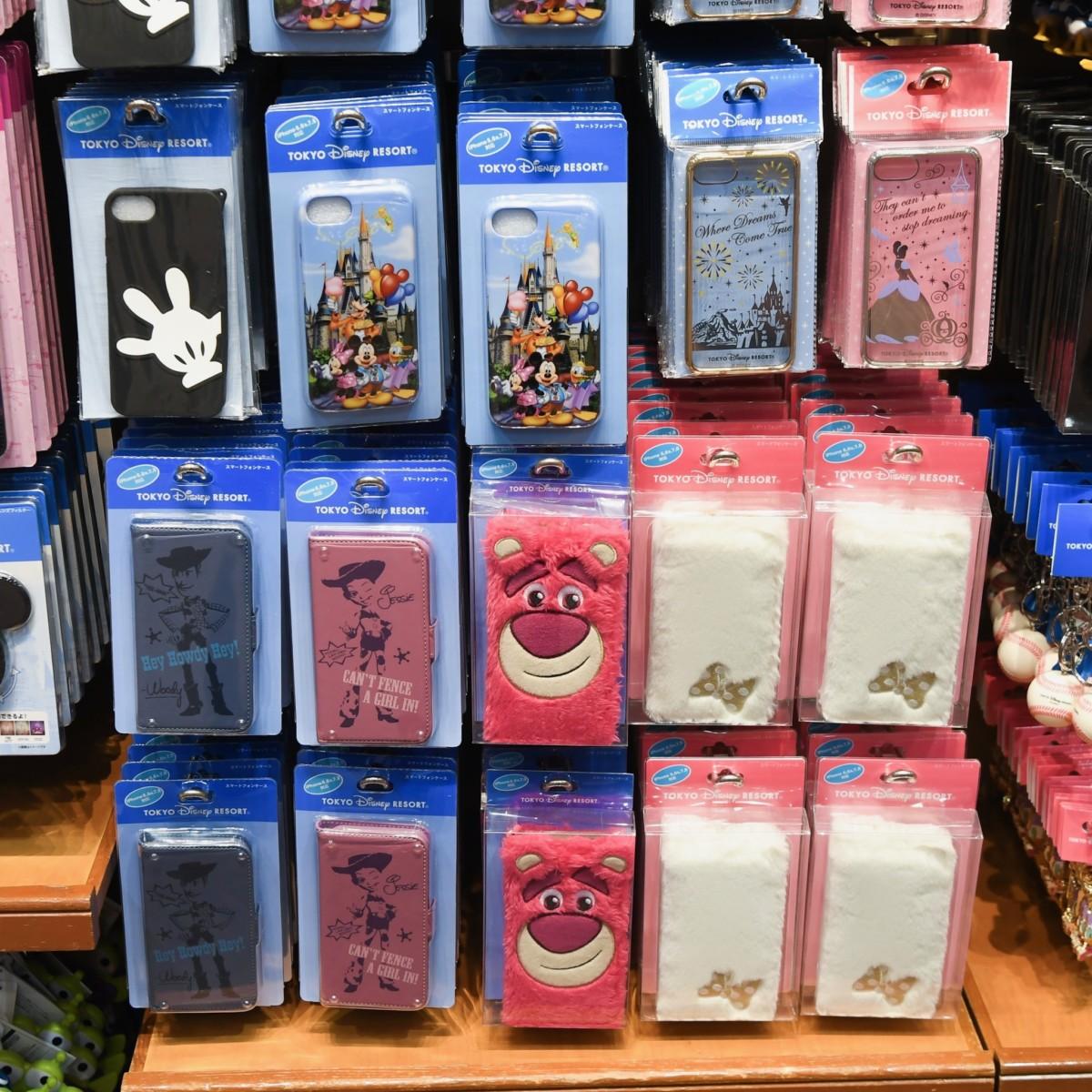 東京ディズニーランド スマートフォンケース