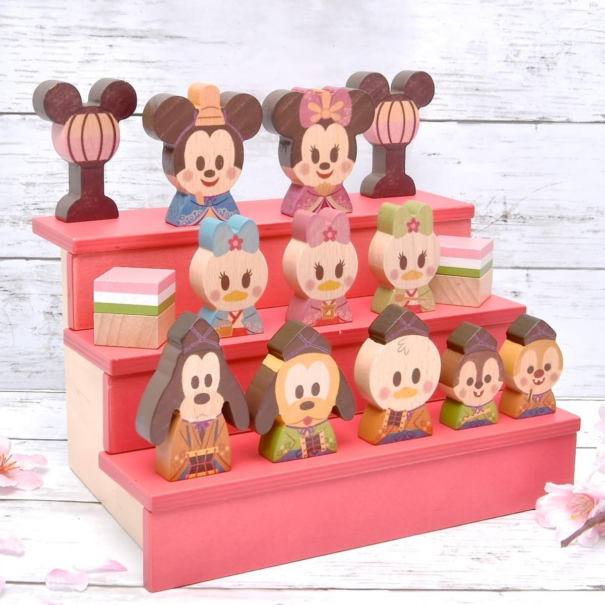 バンダイ「Disney/KIDEAお雛様限定セット」斜め