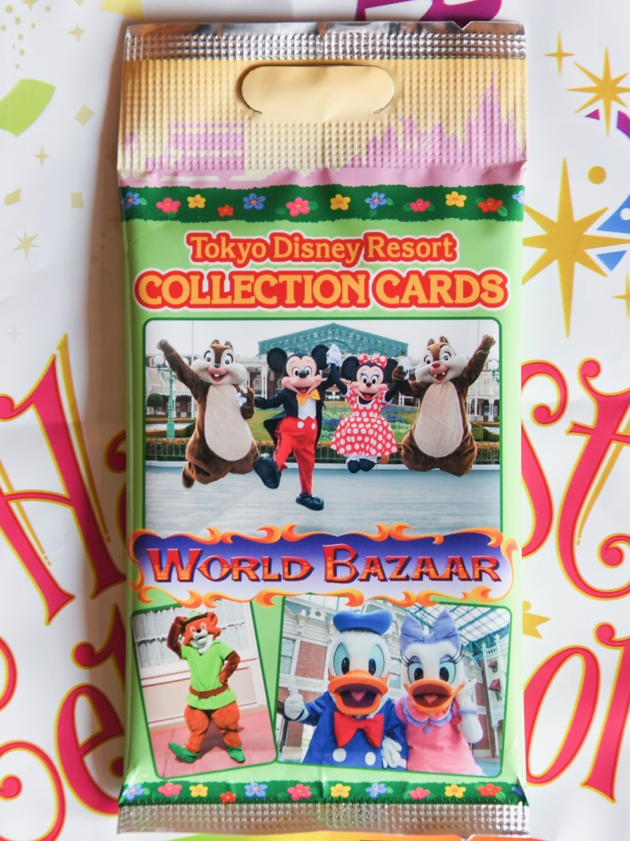 東京ディズニーランド「ワールドバザール」コレクションカード