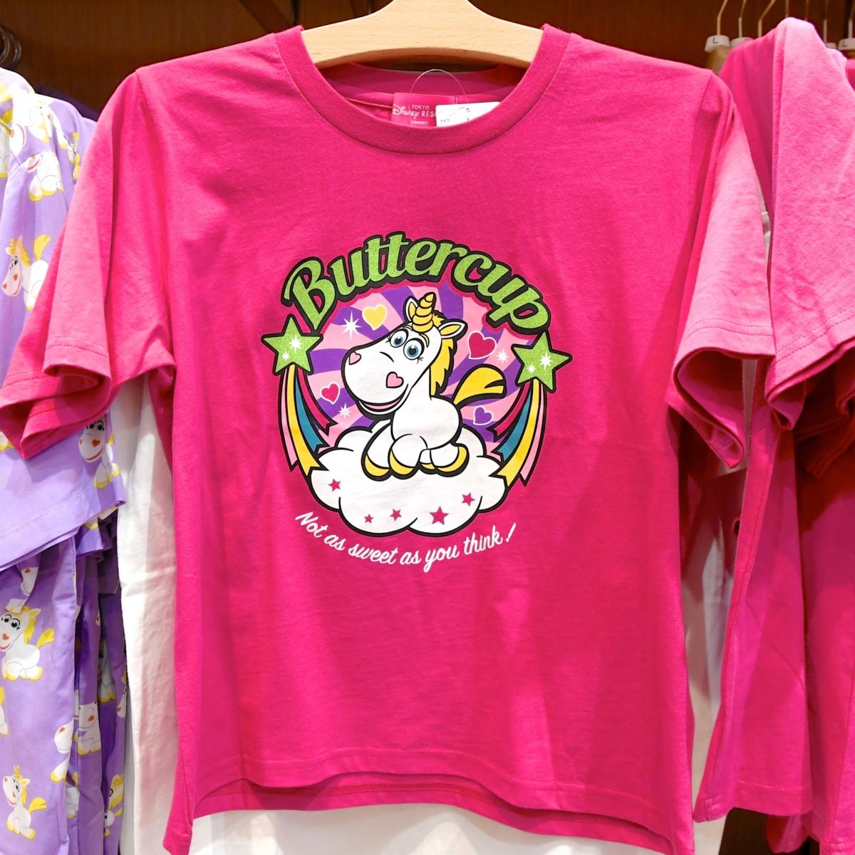バターカップTシャツ ピンク