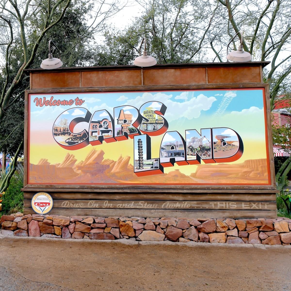 ディズニー・カリフォルニア・アドベンチャー・パーク「カーズランド」