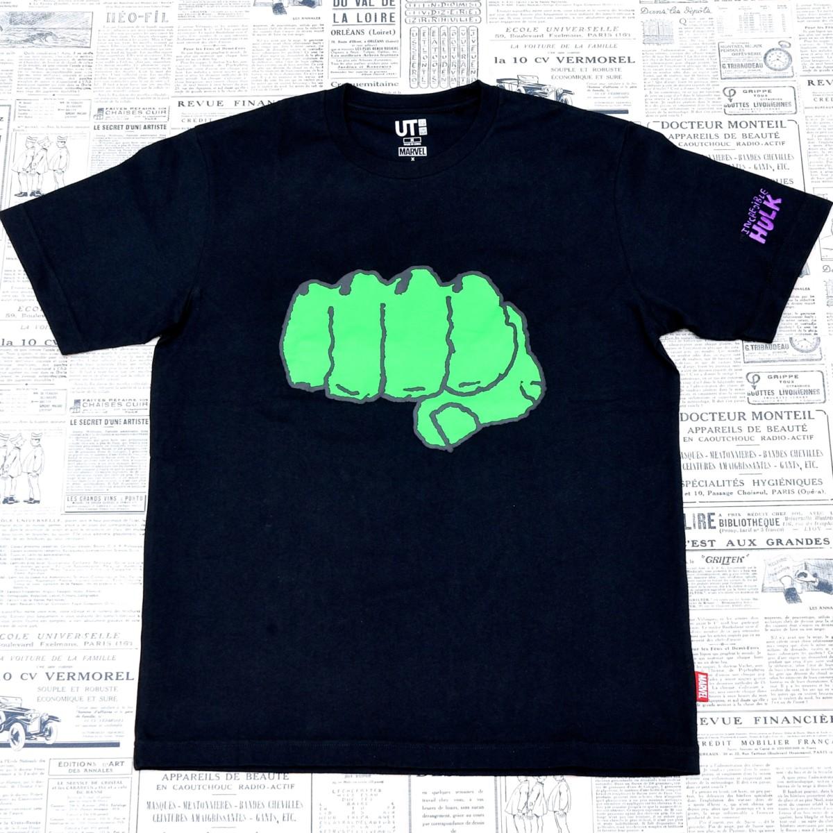 ハルクデザインTシャツ