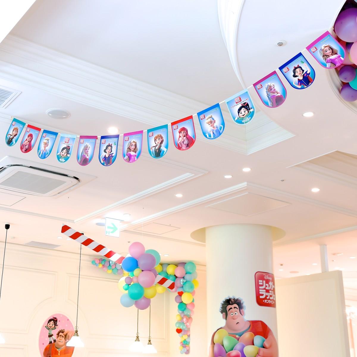 ディズニー『シュガー・ラッシュ:オンライン』MovieNEX発売記念 OH MY CAFE 内観3