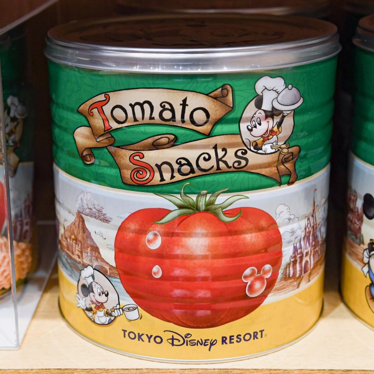 トマトスナック缶 パッケージ