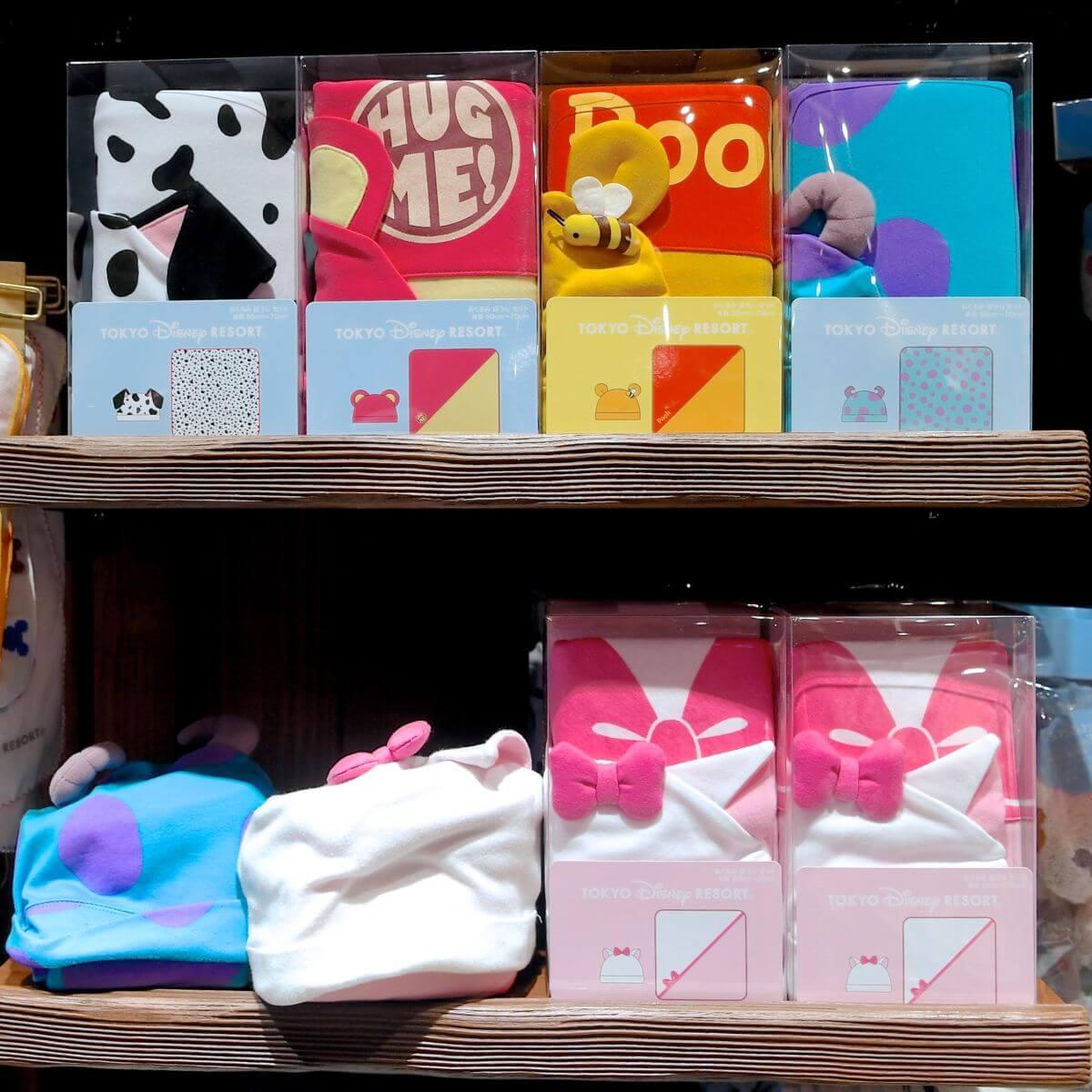 東京ディズニーランド なりきりおくるみ 帽子付き・お土産