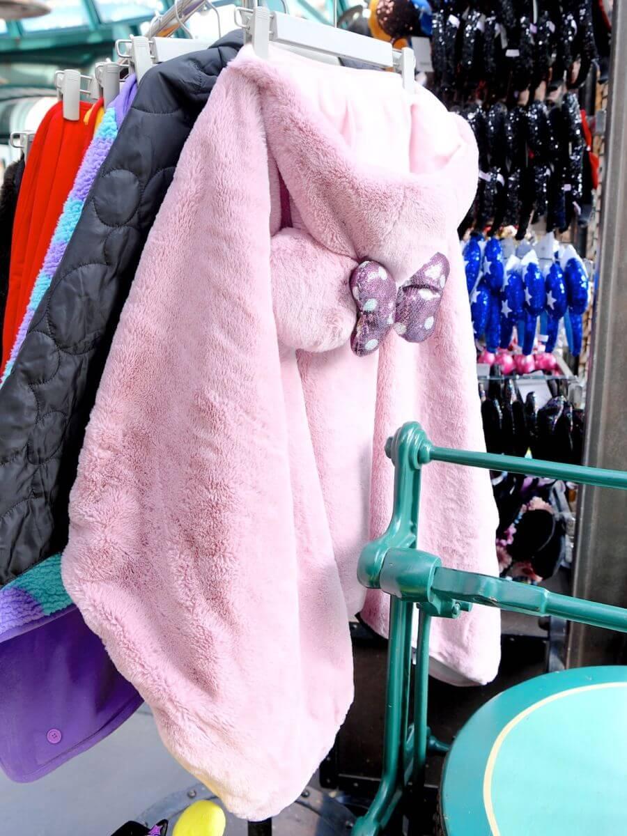 ミニーマウスブランケット ピンク