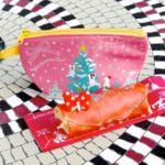 """カフェ・オーリンズ""""ディズニー・クリスマス2019""""ストロベリー&クランベリークレープ"""