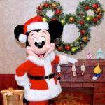 香港ディズニーランド・リゾート「サンタミッキー」グリーティング