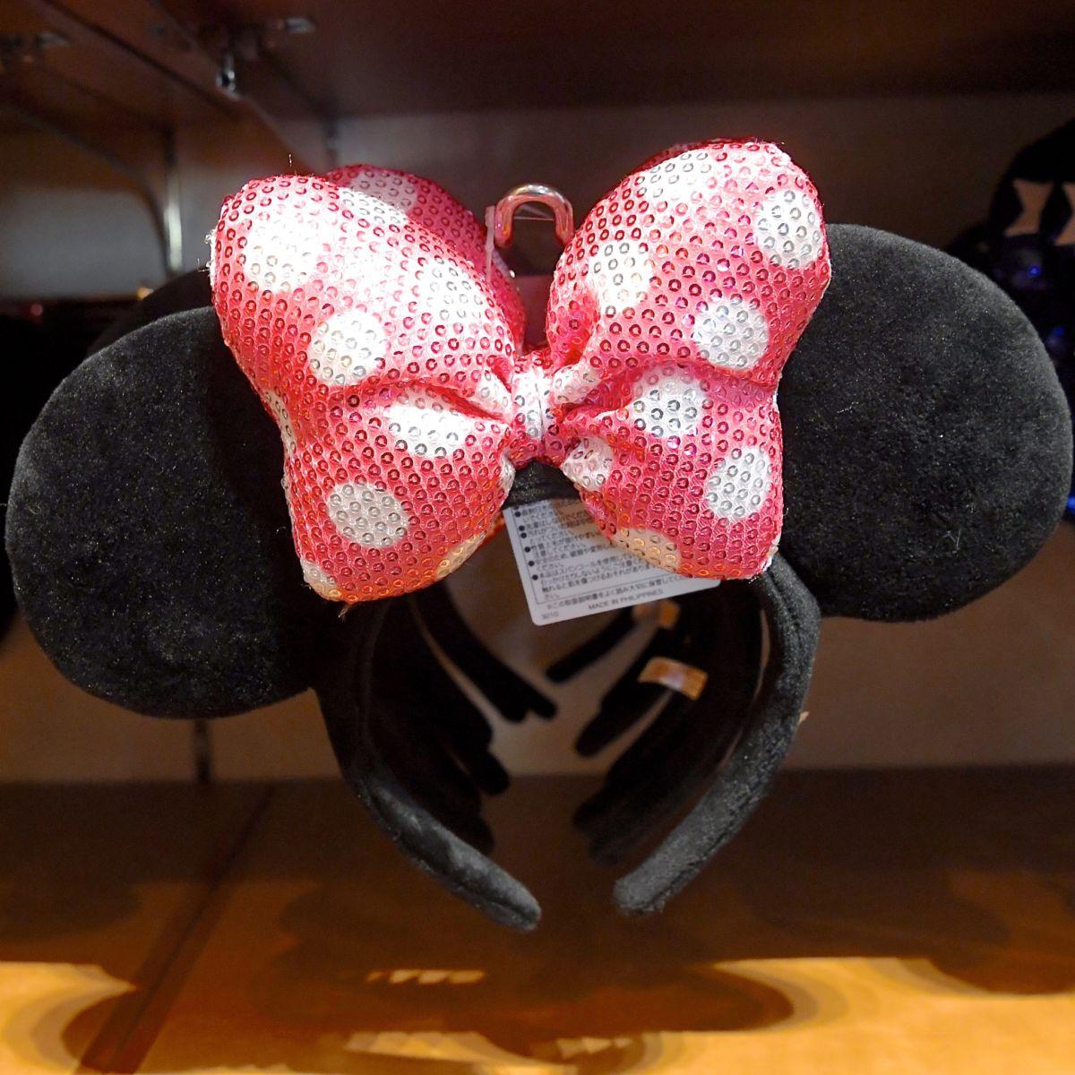 ミニーマウスカチューシャ(ピンク)