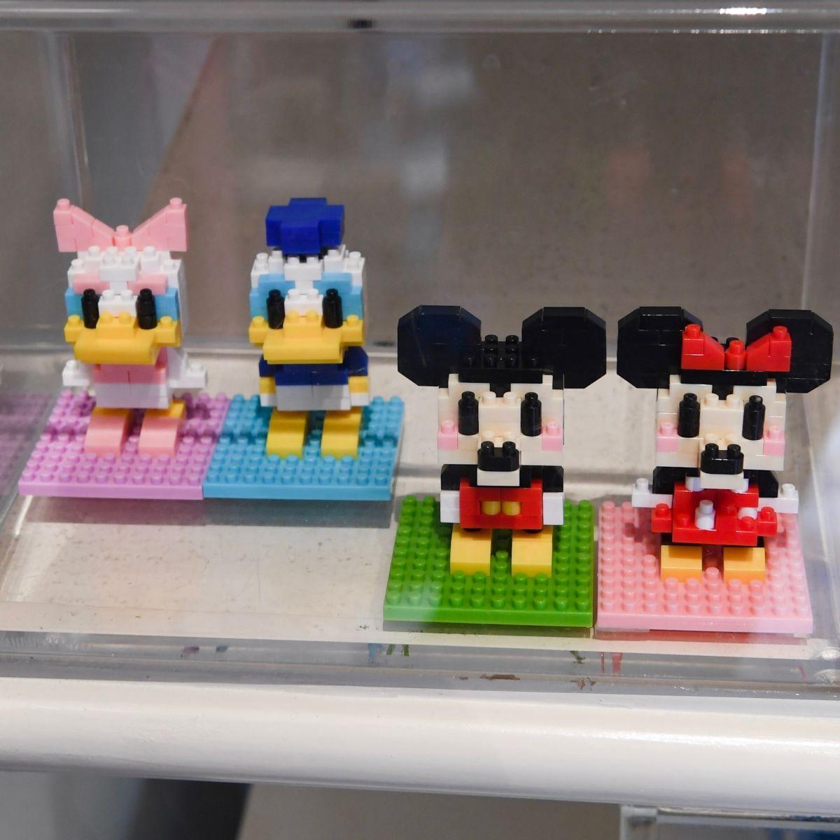 東京ディズニーランド「ミッキー&フレンズ」ミニブロック(ナノブロック)