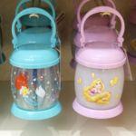 東京ディズニーランド「ラプンツェル&アリエル」ランタン型光るおもちゃ・お土産