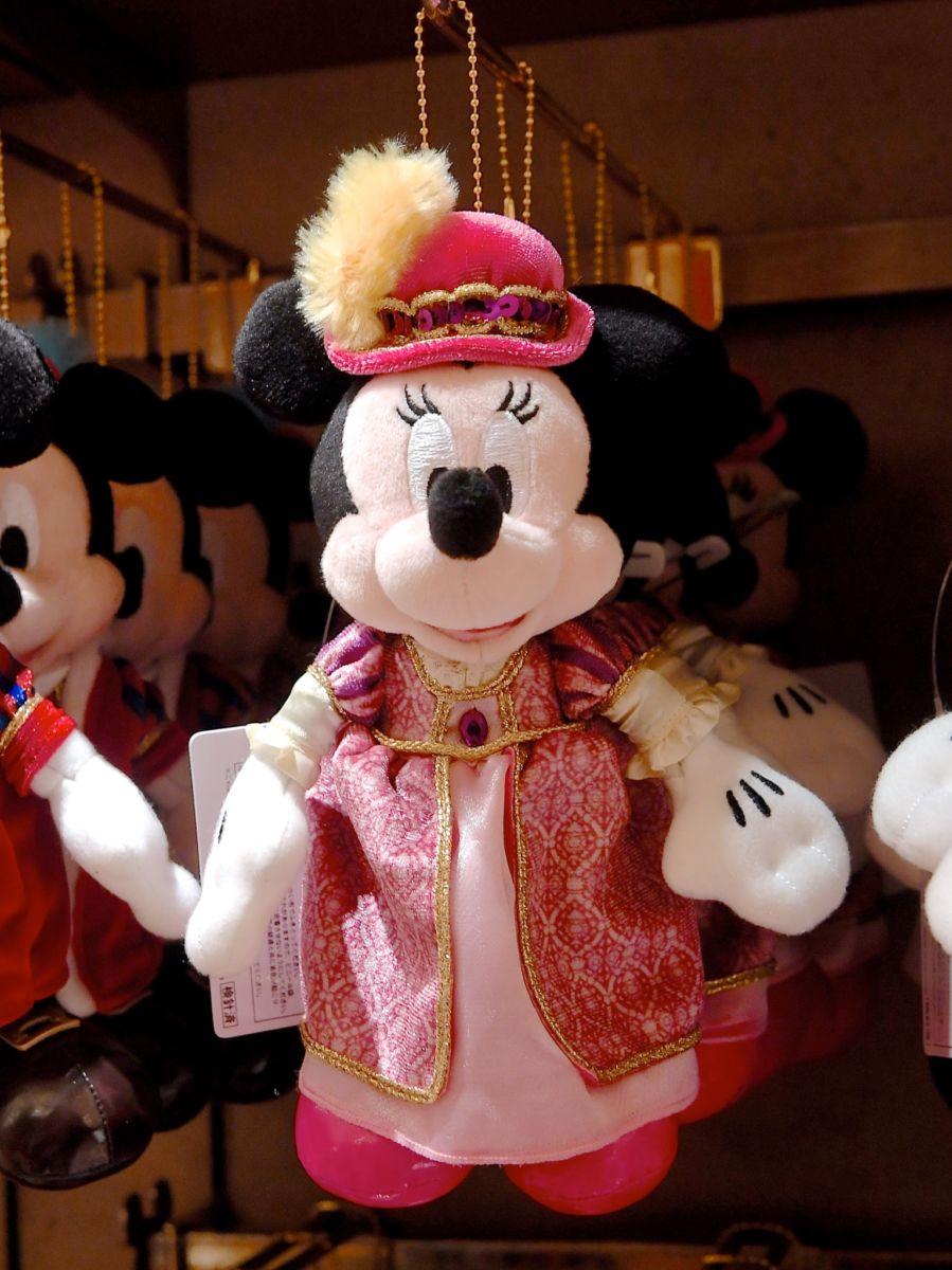 東京ディズニーシー・ホテル・ミラコスタ ミニーマウスぬいぐるみバッジ