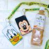 ミッキー&フレンズのお顔型!キリン 午後の紅茶 ディズニーデザインボトルセット パスケース付き