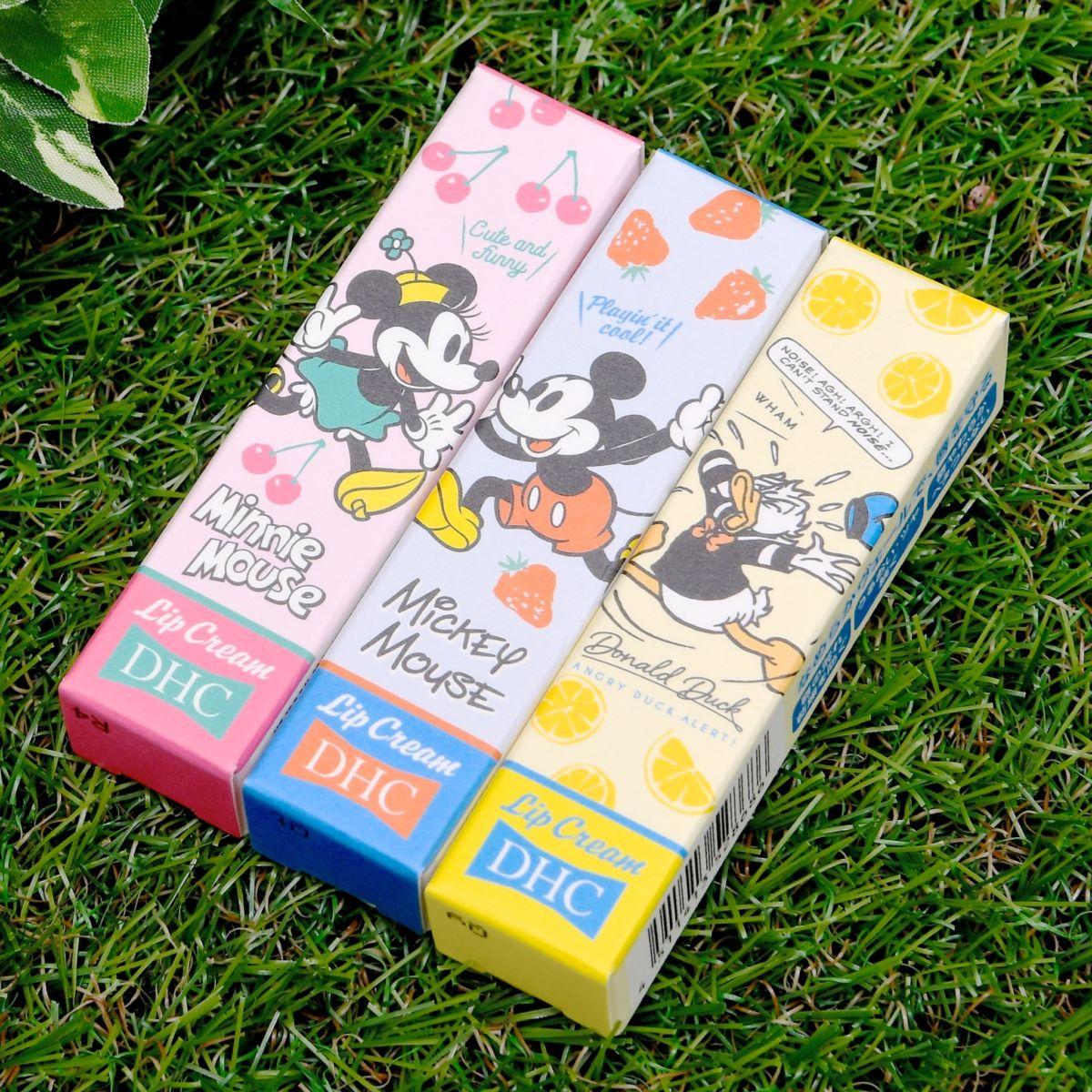 DHC薬用リップクリーム ディズニー(ミッキー&フレンズ)デザイン パッケージ