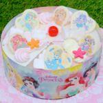 アイスクリームケーキ「'ディズニープリンセス' パレット6」