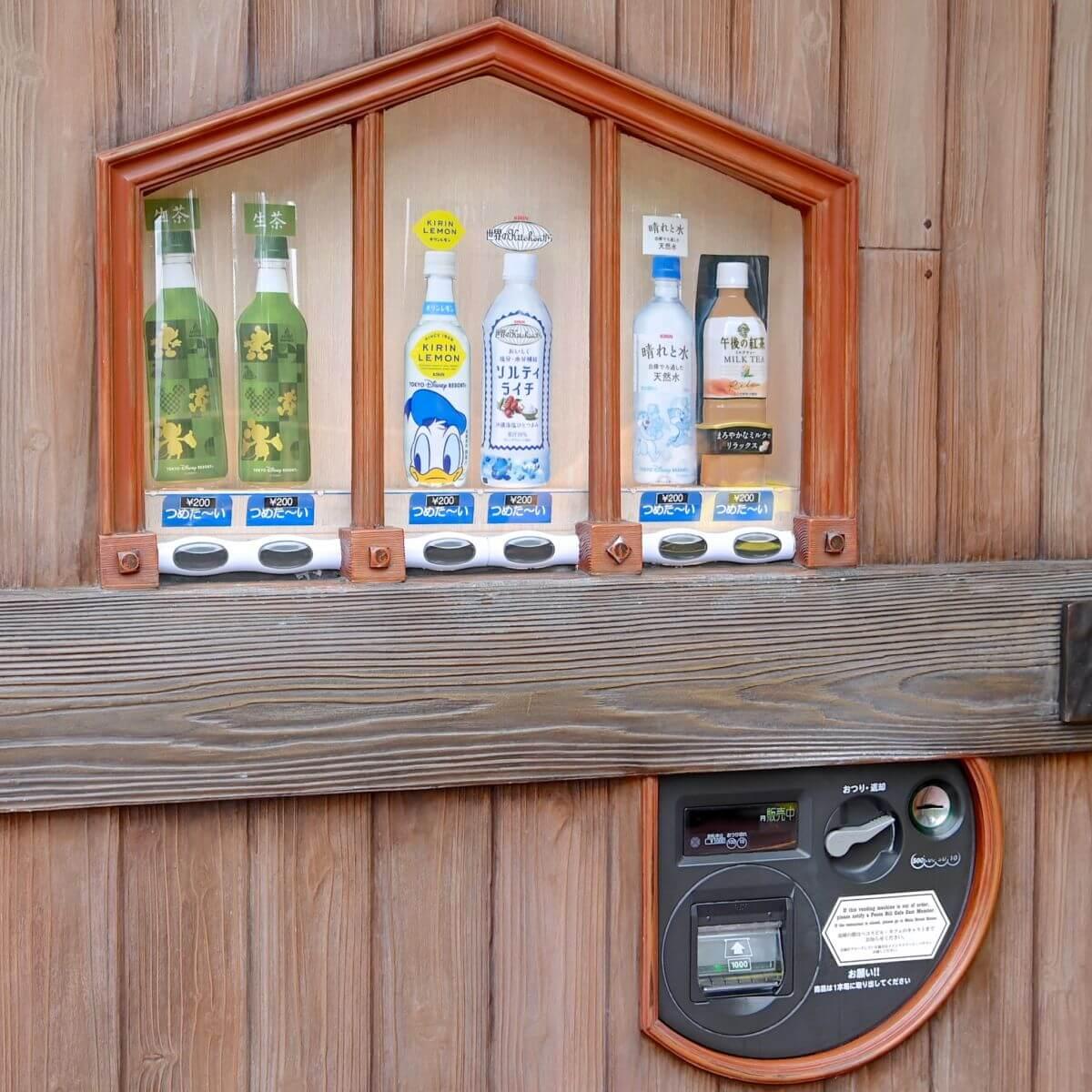 ウエスタンランド自動販売機 ペットボトル種類