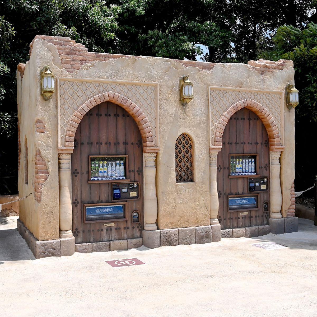 東京ディズニーシー アラビアンコースト自動販売機