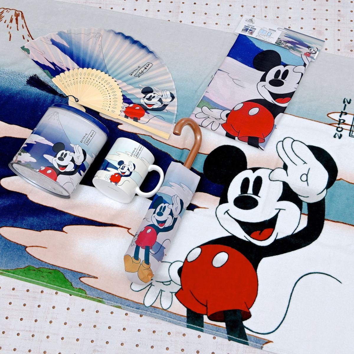 shopDisney(ショップディズニー)浮世絵アート風ミッキーマウスグッズ