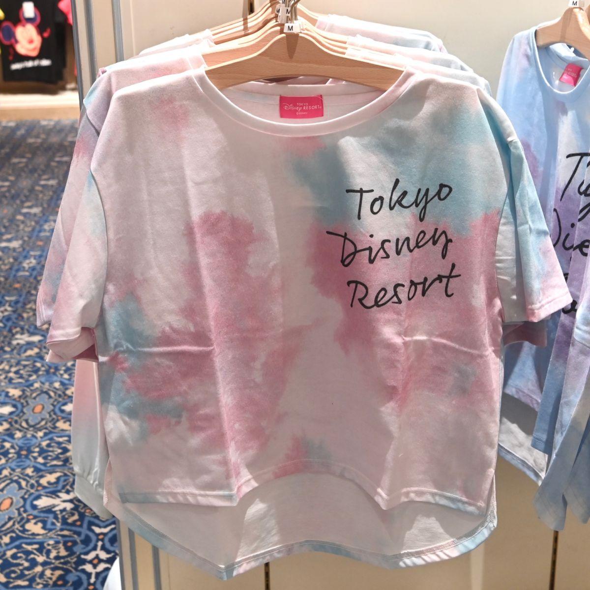 東京ディズニーリゾートBIGシルエットTシャツ(レディース・ピンク)