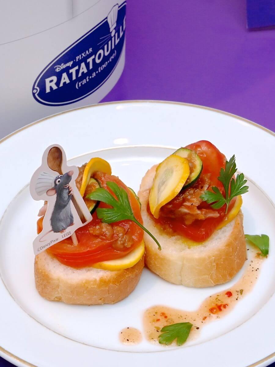 <レミーのおいしいレストラン/レミー>5つ星レストランのラタトゥイユ