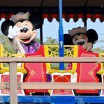 ウエスタンリバー鉄道ミッキーマウス&ミニーマウス1