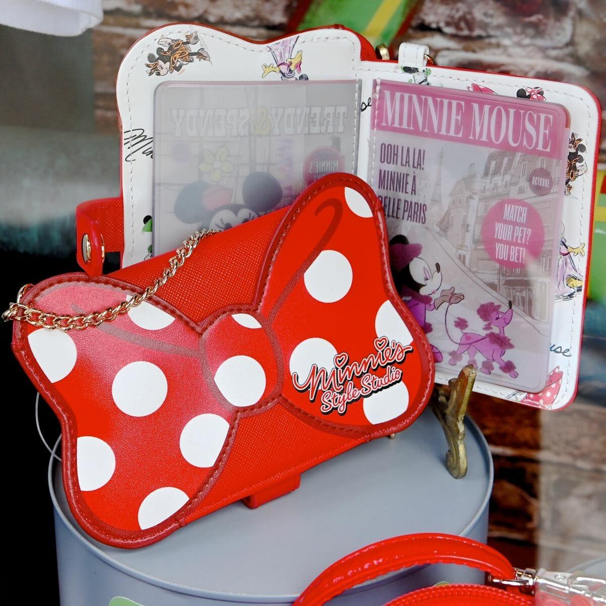 「ミニーのスタイルスタジオ」デザインパスケース