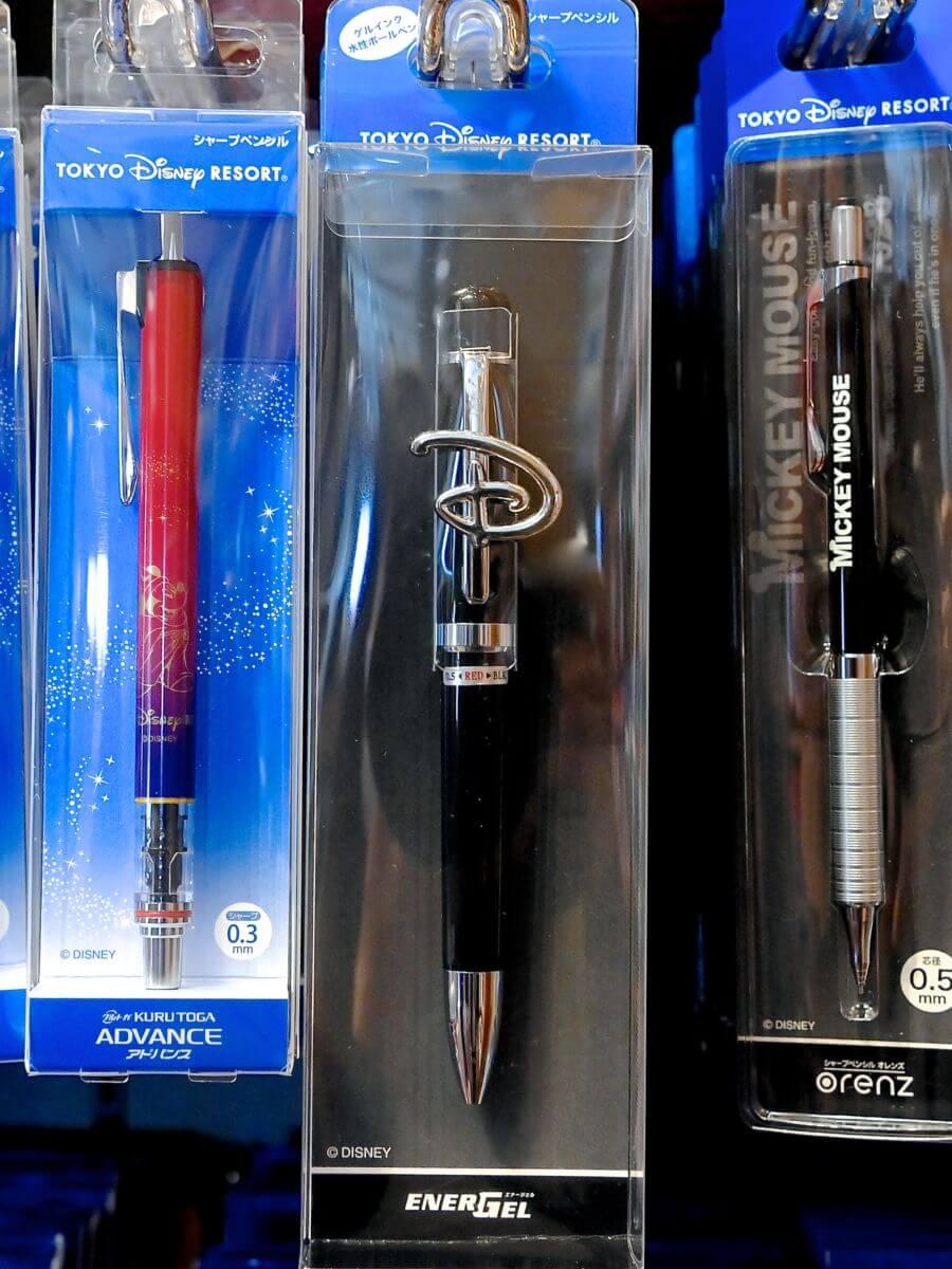 ボールペン2色&シャープペンシル(エナージェル)