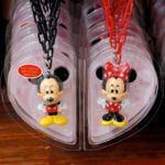 東京ディズニーランド ミッキーマウス&ミニーマウスキーチェーンセット1