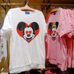 東京ディズニーランド「ミッキー&フレンズ」ハートデザインTシャツ