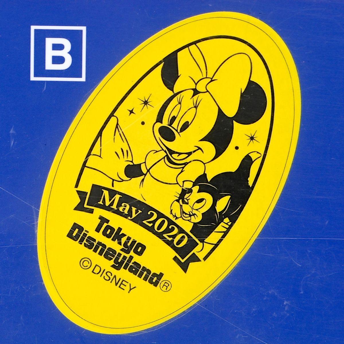 ミニーマウス&フィガロスーベニアメダル