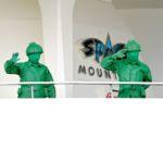 東京ディズニーランド「スペース・マウンテン」グリーンアーミーメングリーティング