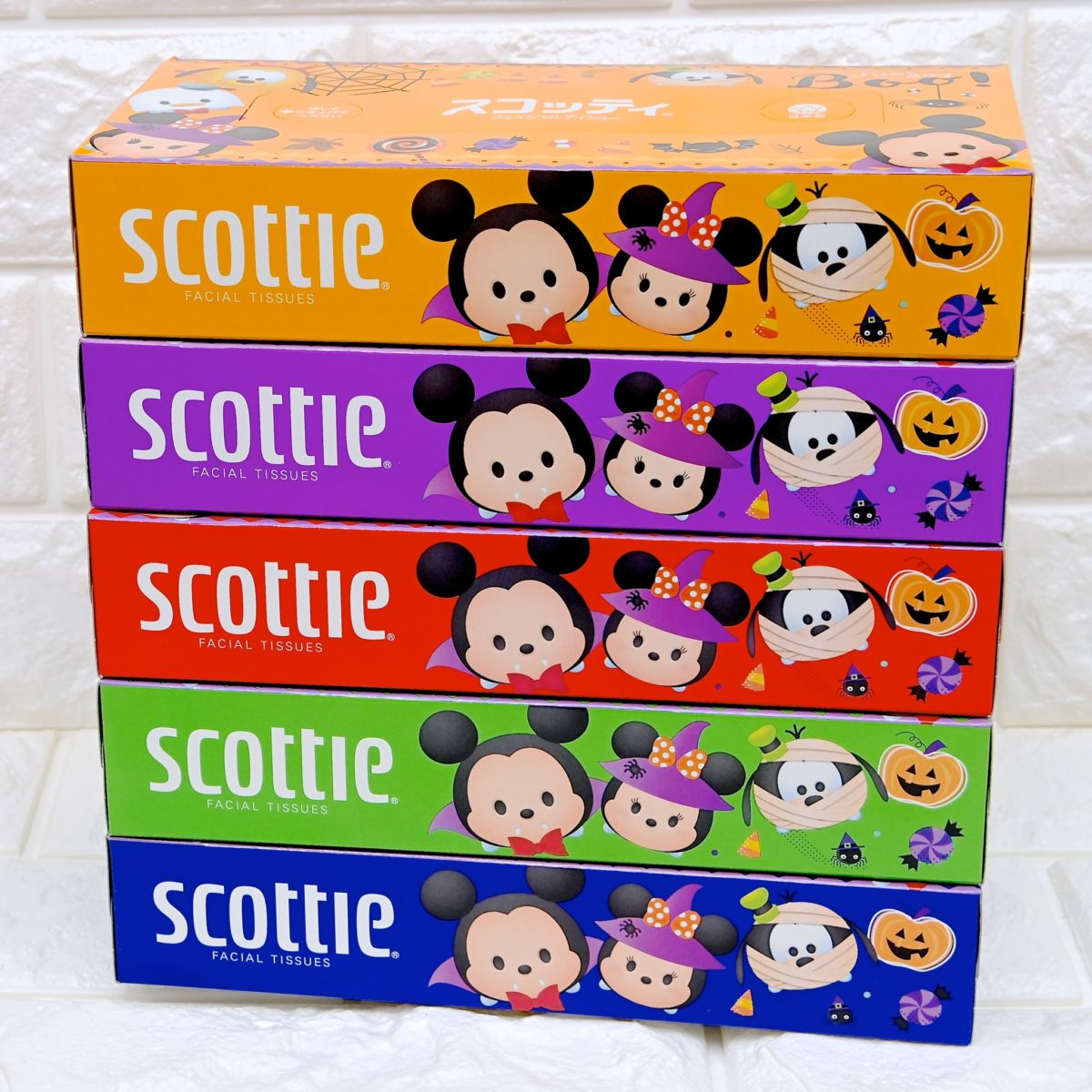 日本製紙クレシア「スコッティ」ディズニーハロウィンデザイン2
