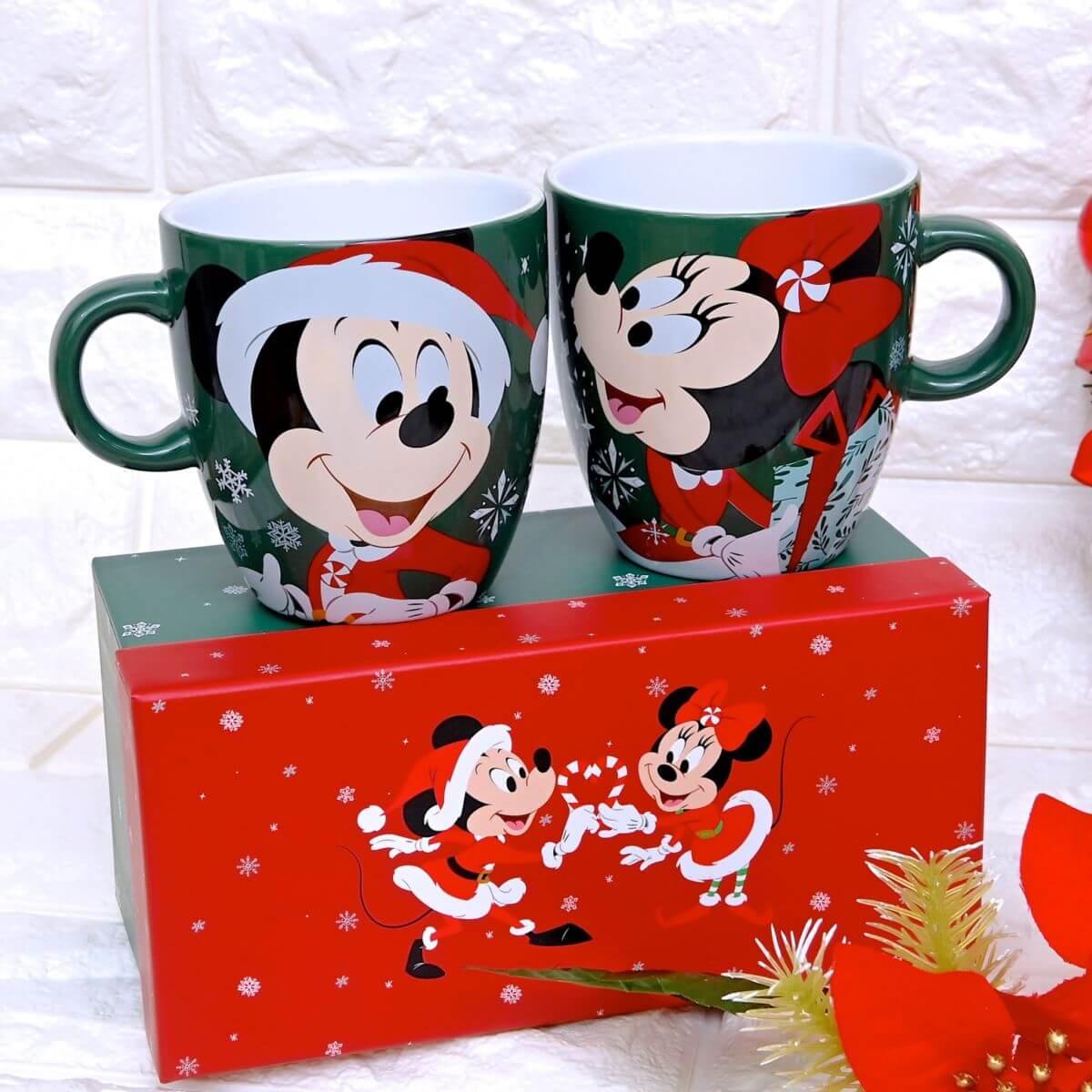 ミッキー&ミニー マグカップ ペア Disney Christmas 2020
