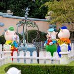 トゥーンタウン「ミニーの家」3匹の子ぶたグリーティング