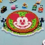 東京ディズニーランド「ミッキー花壇」ナノブロック