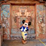 東京ディズニーシー「ミッキー&フレンズのグリーティングトレイル」ミッキーマウスグリーティング