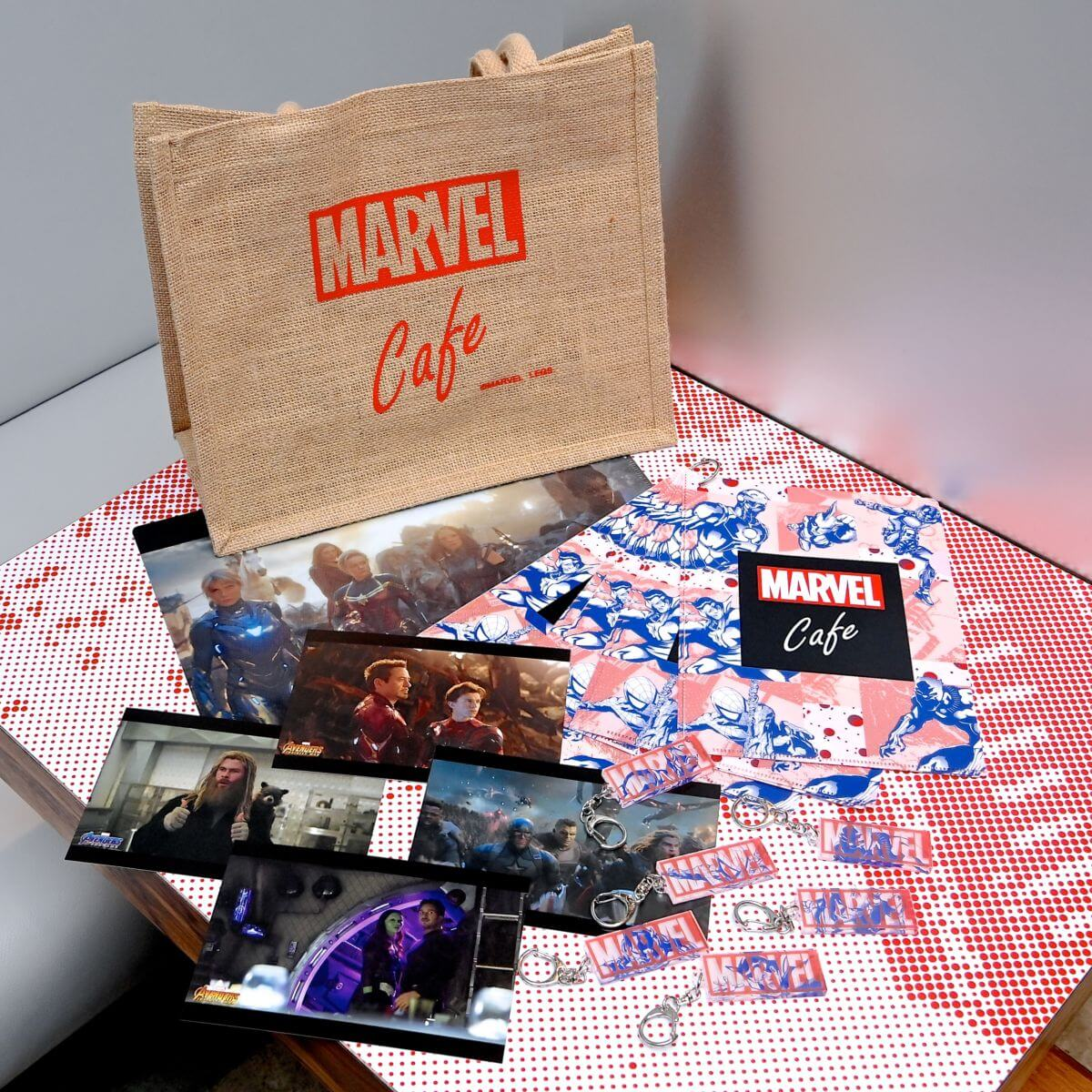 「MARVEL」cafe produced by OH MY CAFE オリジナルグッズ