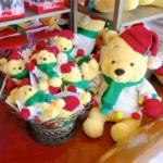 """東京ディズニーランド""""クリスマス2020""""「くまのプーさん」ぬいぐるみ・お土産"""