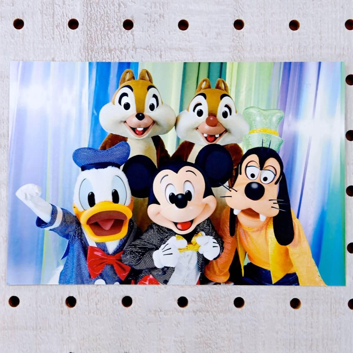 ミッキー&フレンズポストカード
