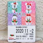 """ディズニーリゾートライン""""クリスマス2020""""フリーきっぷ"""