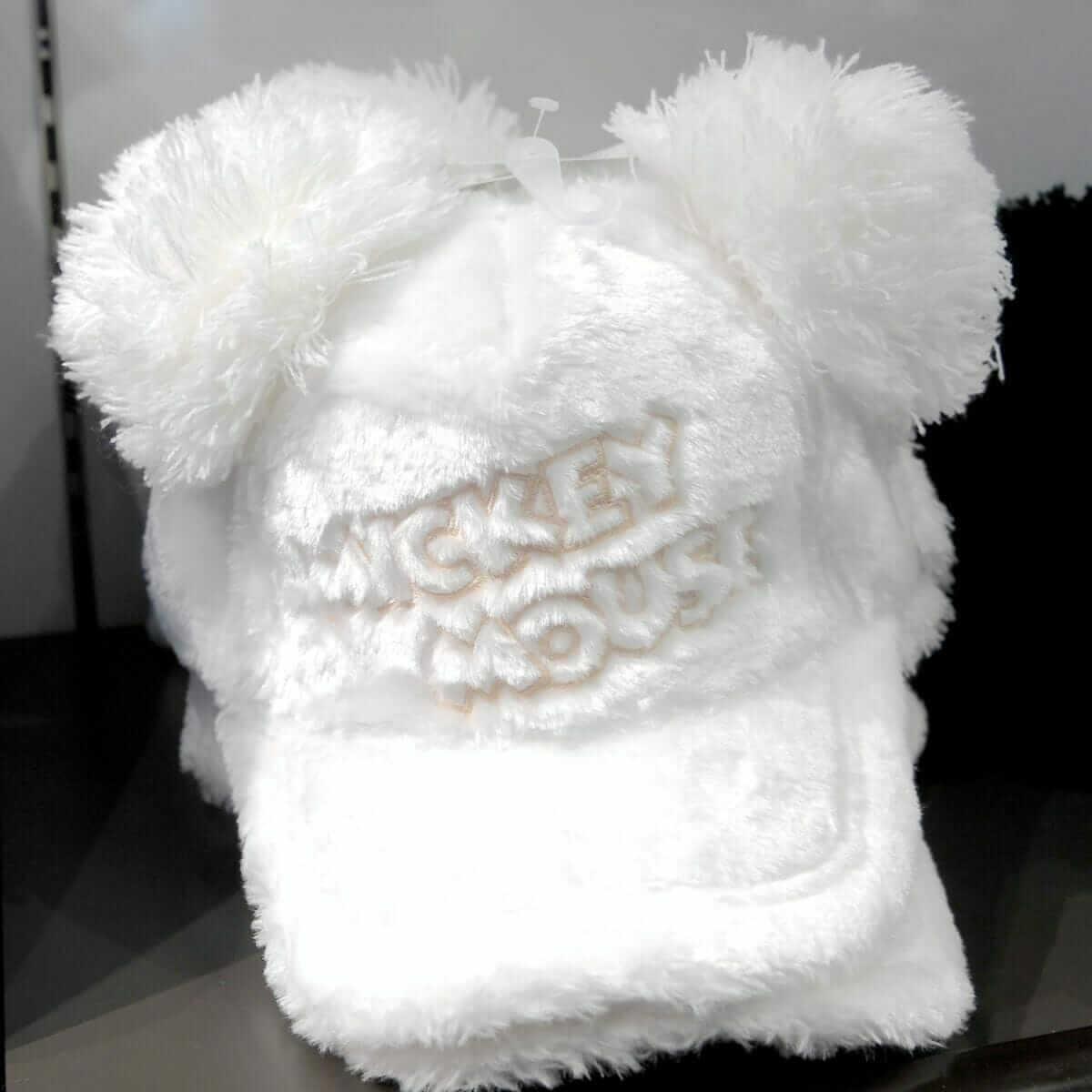 ミッキーマウスキャップ(ホワイト)