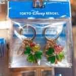 東京ディズニーランド四つ葉のクローバー型キーチェーン・お土産