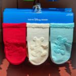 ミッキーマウス デザインソックス(靴下) 3足組 キッズ