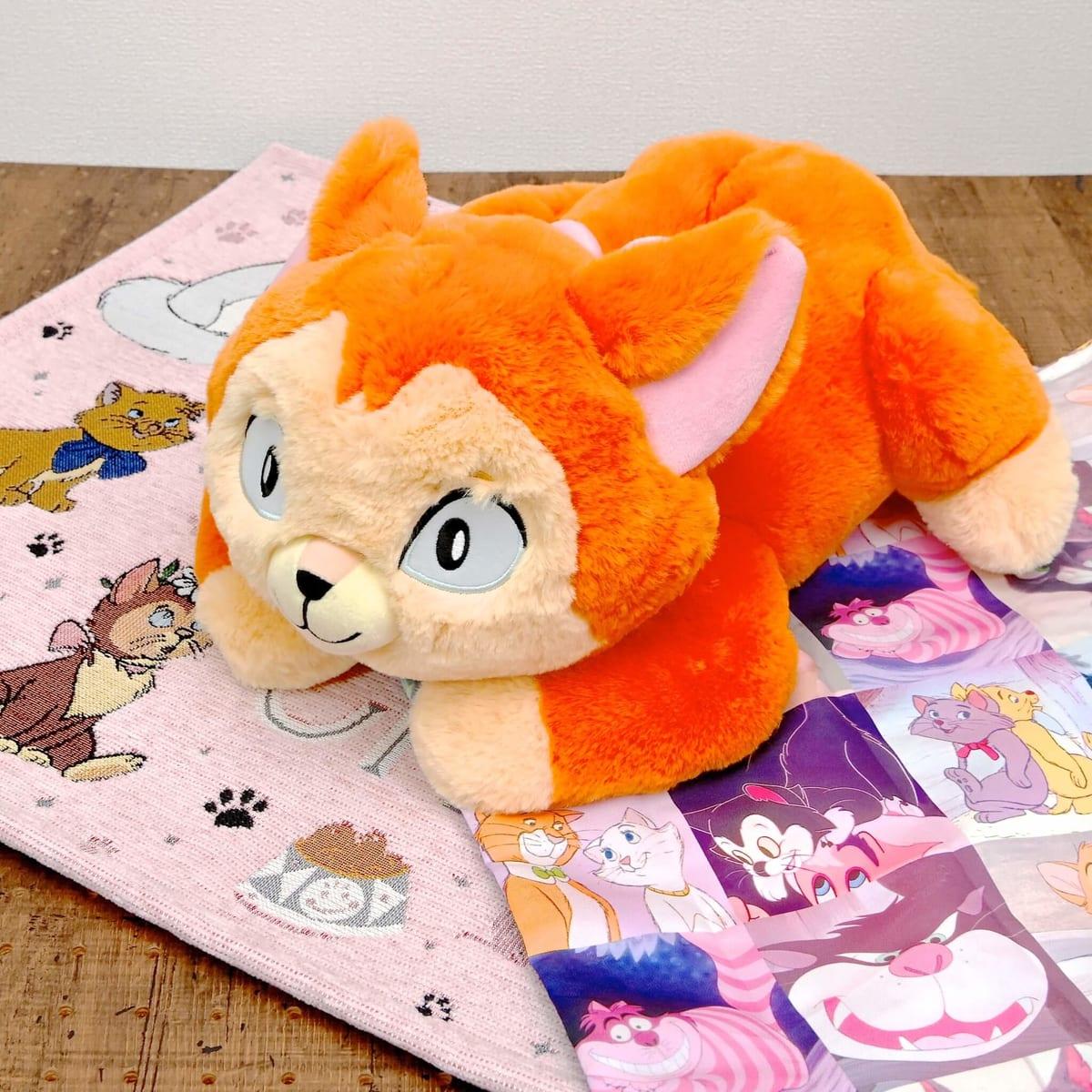 ダイナ ティッシュボックスカバー I Love MY Disney CAT