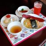 東京ディズニーシー「ヴォルケイニア・レストラン」2021春ヴォルケイニアセット