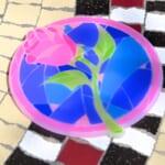 東京ディズニーランド『美女と野獣』バラモチーフスーベニアコースター