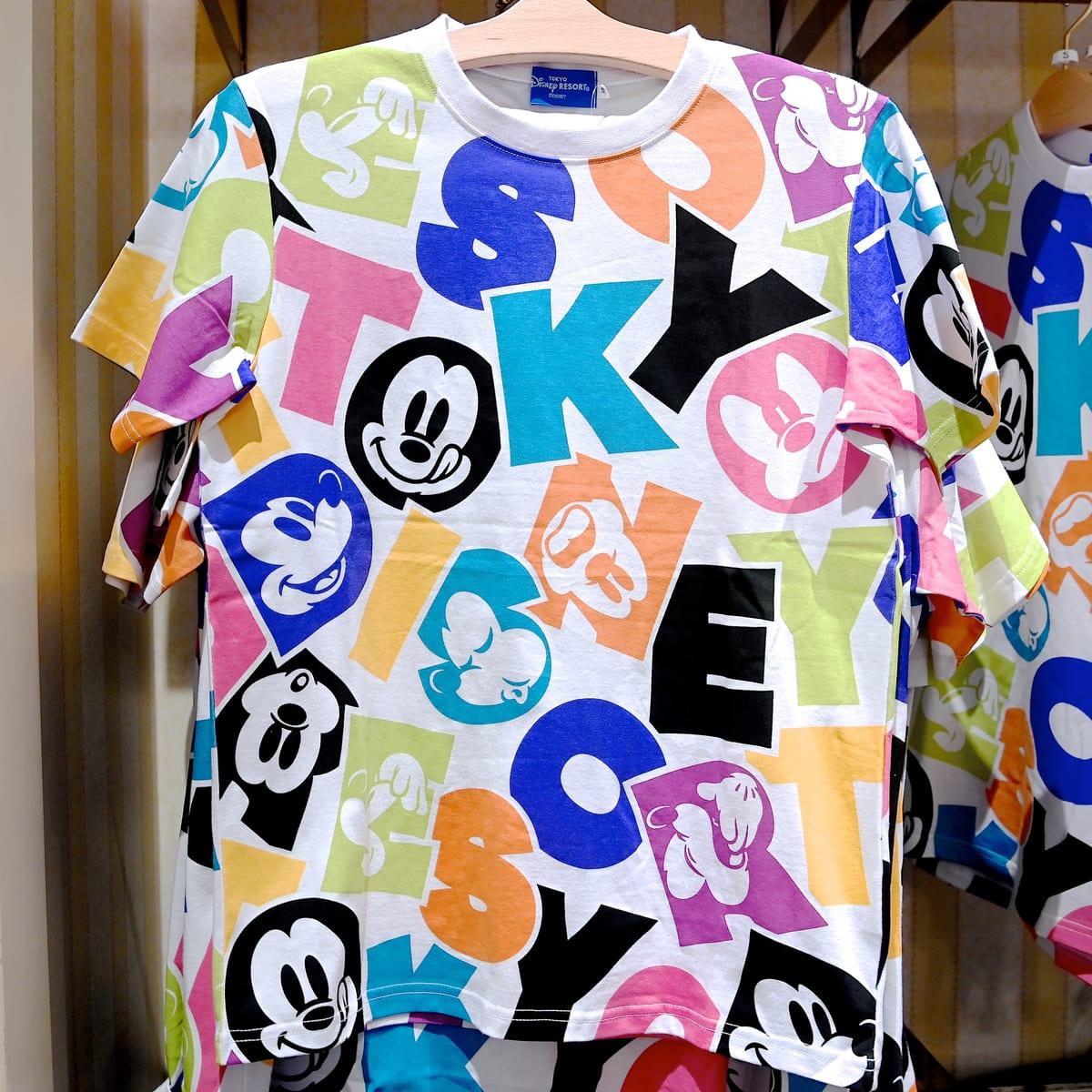 東京ディズニーランド「ミッキー&フレンズ」Tシャツ・お土産