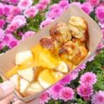 ガラムマサラ・チキンとベイクドポテト、チーズソース