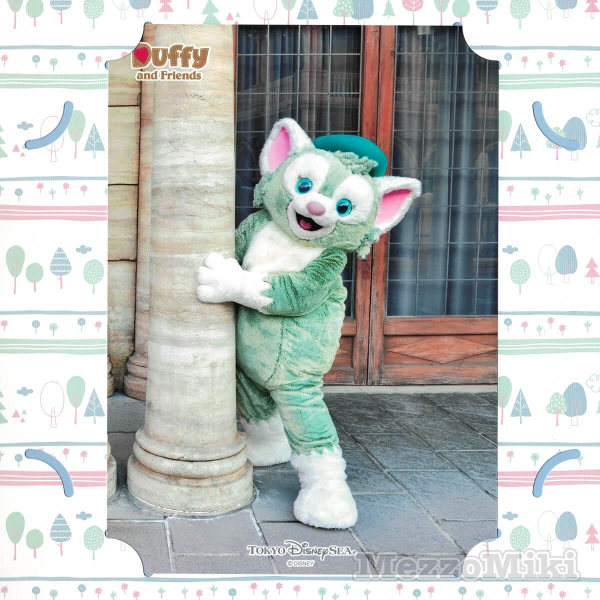 東京ディズニーシー「Duffy and Friendsのフォト」 ジェラトーニの写真