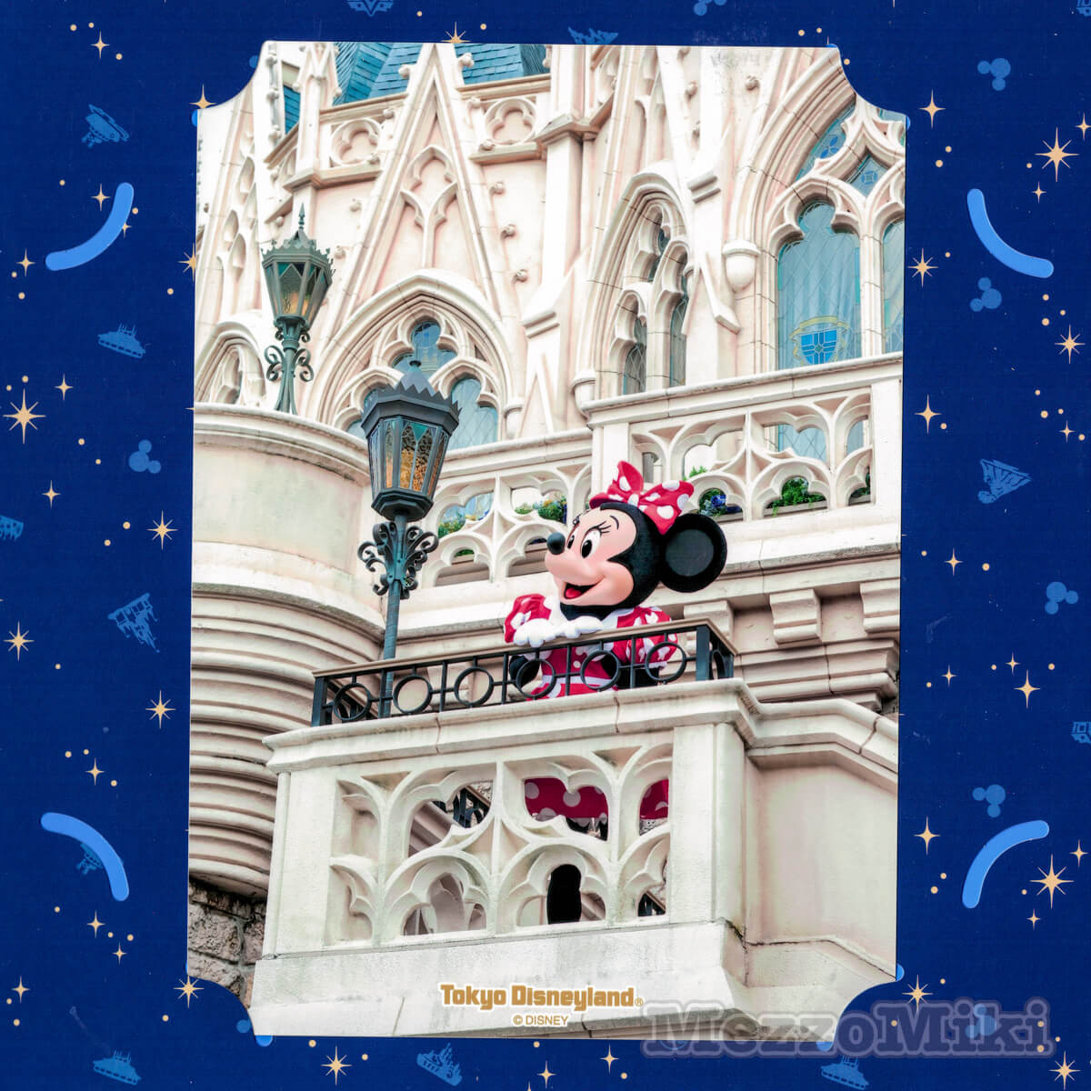 東京ディズニーランド&シー フレキシブルスナップフォト台紙 ミニーマウス